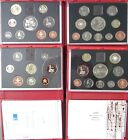 1985-2007 Royal Mint Proof Coin Set Red Deluxe Choose Your Year
