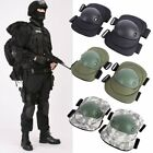 4 Knee Elbow Protective Pad Protector Gear Sports Tactical Airsoft Skate Pad USA
