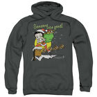 Betty Boop Chimney Pullover Hoodies for Men or Kids $33.28 USD