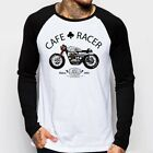 Cafe Racer classic Motorcycle triumph norton enfield long sleeve t-shirt FN9167 $22.36 CAD on eBay