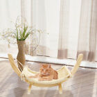 luxurious cat beds - Luxury Cat Hammock Large Soft Plush Bed 35*71cm Wood Hanging House Pets Supply