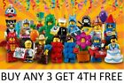 LEGO MINIFIGURES SERIES 18 PARTY 71021 PICK CHOOSE FIGURE + BUY 3 GET 4TH FREE