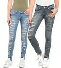 Sexy Low Rise Stretchy Ripped/Distressed Skinny Jeans 1 ~ 13