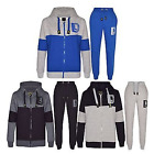Boys Kids DL FUNK Design Full Tracksuit Contrast Fleece Hoodie Jogging Bottoms