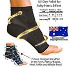 Foot Angel Anti Fatigue Sleeve Fasciitis Compression Sport Socks Sore Achy Ankle