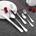 20 Piece Stainless Steel Flatware Silverware Cutlery Home Kitchen Tools Set New
