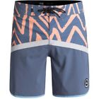 Quiksilver Highline Techtonics 18 Mens Shorts Boardshorts - Silver Scone