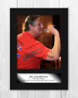 Eric Bristow A4 signed mounted photograph picture poster. Choice of frame.