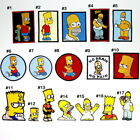 The Simpsons Homer Bart Funny Family Comedy Cartoon Clothing Shirt Iron on Patch