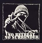 PUNK ANTI SYSTEM ARMAGEDON NO SURRENDER   patches  punk rock n roll rockers