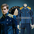 Cool Cosplay Star Trek Beyond Captain James T Kirk Cosplay Costume Halloween on eBay