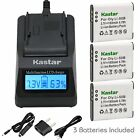 Li-50B Battery or Fast Charger for PANASONIC HX-WA03 WA03H WA03W WA2 WA20