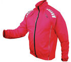 Netti D4 Long Sleeve Convertible Bike Jacket Red