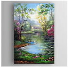Hand Painted Landscape Canvas Oil Painting Wall Art Home Decor  013
