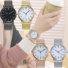Women Casual Quartz Stainless Steel Band Marble Strap Watch Analog Wrist Watches