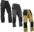 Kyпить Mens Construction Cordura Knee Reinforcement WorkWear Trousers Utility Work Pant на еВаy.соm