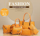 2018 NEW Women set shoulder bag satchel handbag fashion handbags 6PCS