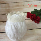 0-3 Months Newborn Baby Photography Props Baby Lace Crown Newborn Hairband new