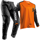 New THOR MX 2018 SECTOR ZONES ORANGE Adult Motocross Jersey & Pants Outfit Moto
