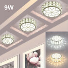 LED Ceiling Lamp Crystal Down Light Wall Mount Fixture Home Kitchen Balcony