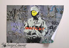 BANKSY PEACE SOLDIER GIANT WALL ART POSTER A0 A1 A2 A3