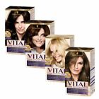 Schwarzkopf Vital Hair Care Colour Cream Permanent Dye Varying Shades New