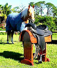 Design Your Own Heavy Duty Super Deluxe SaddleStandz®  Solid Wood Saddle Stand