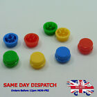 3 Different Colors 12x12x7.3mm Round Tactile Push Button Caps Tact Switches