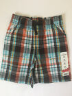 Jumping Beans 3T Plaid Shorts Toddler Boy Clothes Summer Cotton