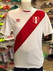 UMBRO Peru World Cup Home Soccer Jersey 2018 - 100% AUTHENTIC Farfan Guerrero