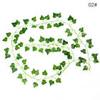 2.2M Artificial Green Ivy Leaf Garland Plant Vine Fake Foliage Home Decor IF2A