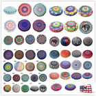 Us Round Pillow Case Mandala Geometric Meditation Floor Cushion Cover Room Decor