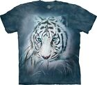 The Mountain Unisex Adult Thoughtful White Tiger T Shirt
