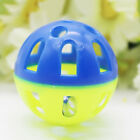 Funny Plastic Jingle Balls Pet Cat Dog Action Play Chasing Ball Toys Chew Toy Mm