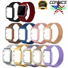 Milanese Stainless Steel iWatch Band Strap+Cover Case For Apple Watch Series 1~3 image
