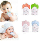 Baby Silicone Mitts Teething Mitten Health Beauty Brush Teether Toy Gifts