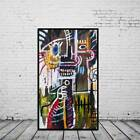Huge Wall Decor Abstract Canvas Unframed Modern Oil Painting Character Graffiti