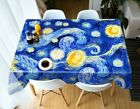 Large Rectangular Table Cloth Cover Wedding Birthday Party Dining Decoration
