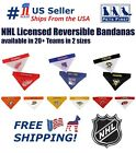 NHL Licensed Dog Bandana! NEW Reversible Pet Bandana - 2 sided Premium Bandanna. $14.99 USD on eBay