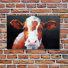 Art Oil Painting Impressionism Animal Cow Painting In Acrylic on Cavans For Home