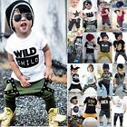toddlers tracksuits - Toddler Baby Boys T-shirt Top Pants Trousers Outfit Set Summer Clothes Tracksuit