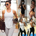 Внешний вид - Women Sports Vest Fitness Exercise Gym Yoga Tank Top Singlet Loose Tops Shirt UU