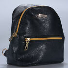 Fashion Women Girls PU Leather Mini Backpack Travel School Backpack Rucksack
