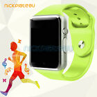 A1 SmartWatch Bluetooth Waterproof GSM SIM Phone Cam For Android Samsung/iOS