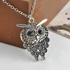 Jewelry Gift Bijoux Hollow Out Sweater Chain Long Chain Owl Pendant Necklace