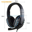 3.5mm Surround Stereo Pro Gaming Headset Headband Headphone With Mic for PS4/PS3