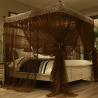 Canopy mosquito net Fr summer anti-mosquito netting bed nets embroidered+Frame image