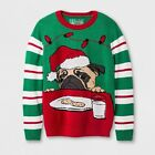 Boys' Pullover Sweaters - Ugly Christmas Sweater Green CHECK FOR SIZE