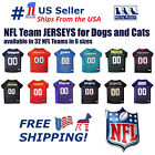Pets First NFL Jersey for DOGS & CATS - Licensed, available in 32 Teams 6 Sizes. $25.49 USD on eBay