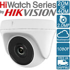 HIKVISION HIWATCH 20m 40m 2MP 1080p EXIR HDTVI AHD Dome Camera THC-T120 THC-T220